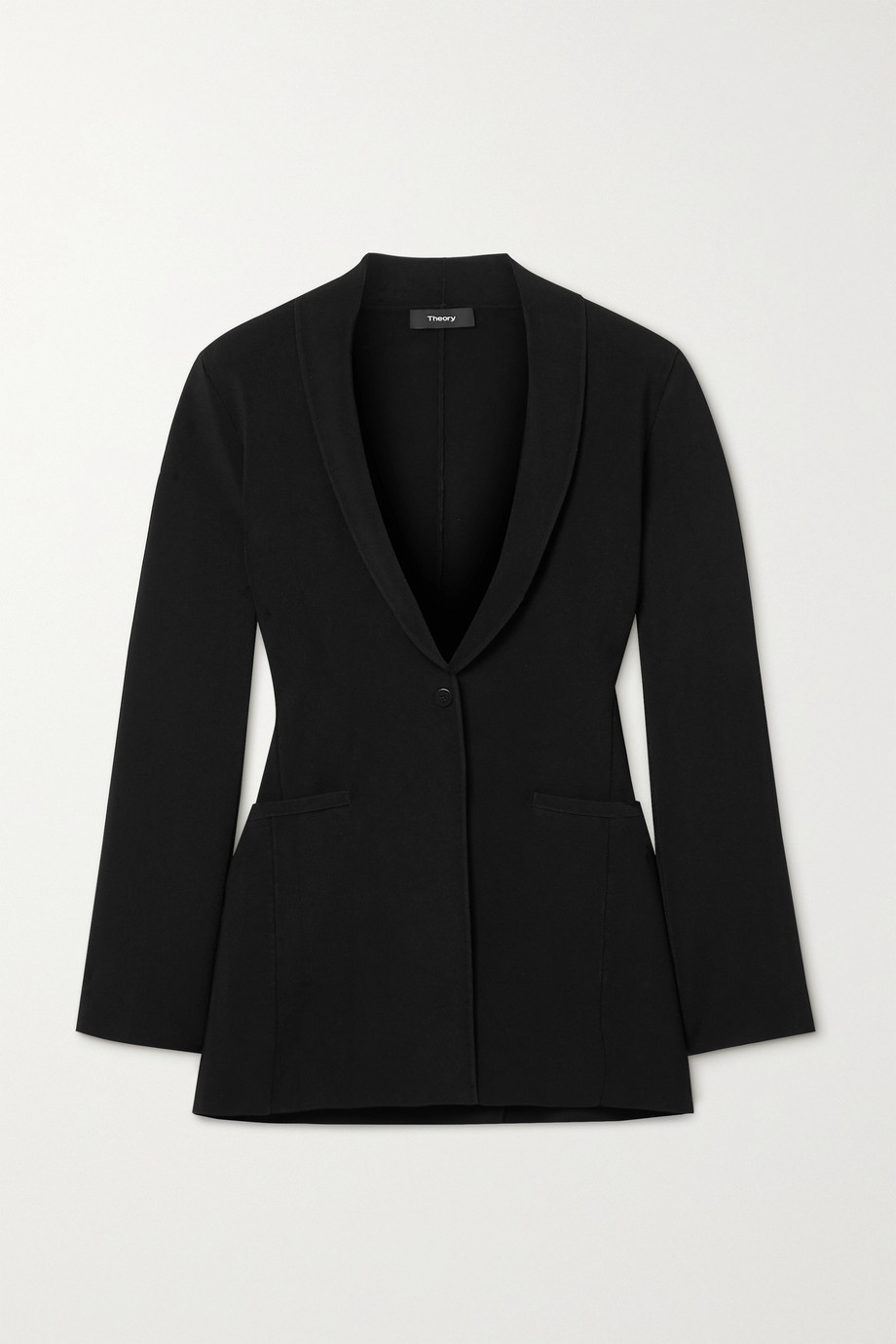THEORY Etiennette woven cardigan