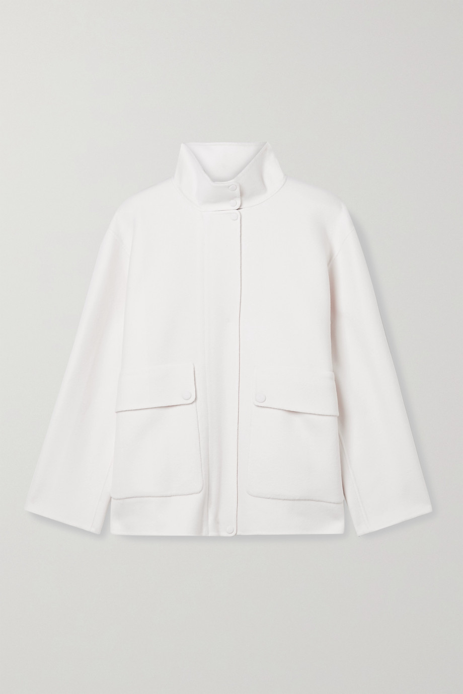 THEORY Wool and cashmere-blend jacket