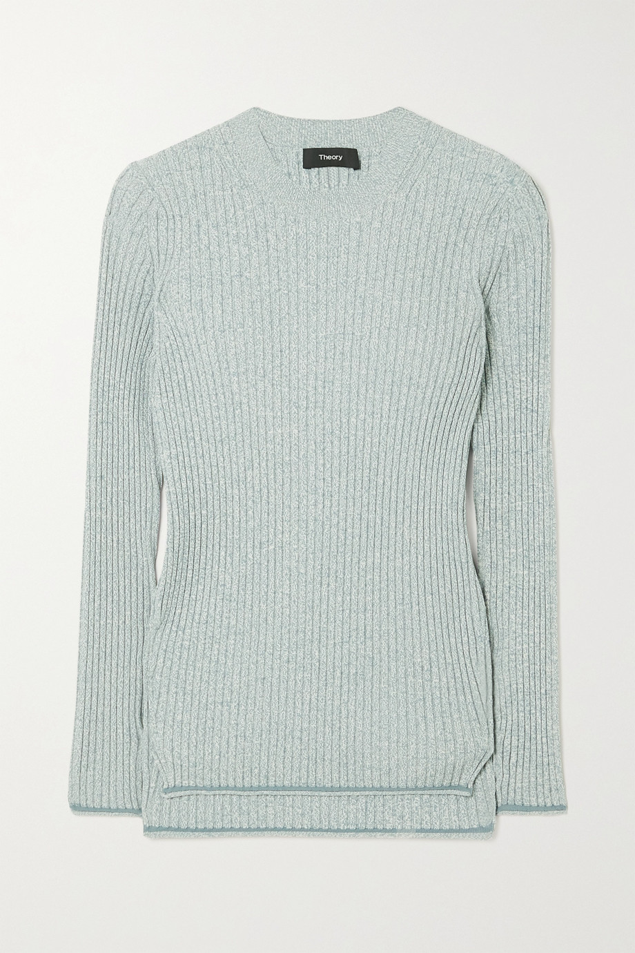 THEORY Mouline ribbed-knit sweater