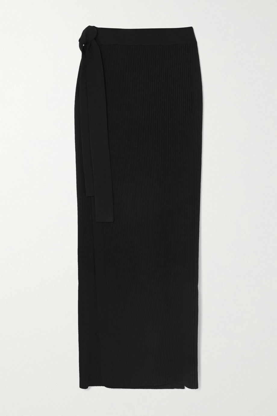 BY MALENE BIRGER Fauris ribbed-knit midi skirt