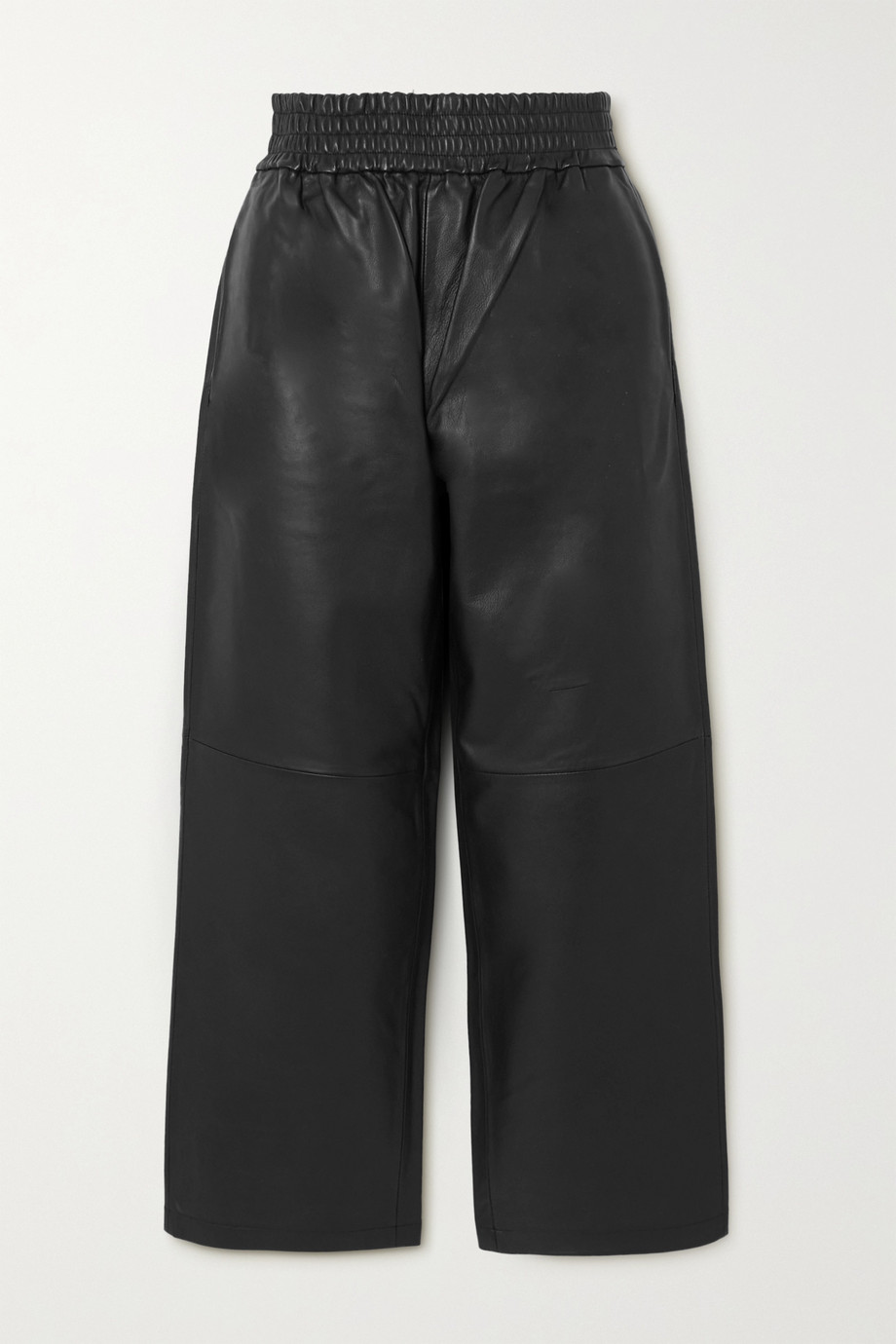 BY MALENE BIRGER Mizonia leather wide-leg pants