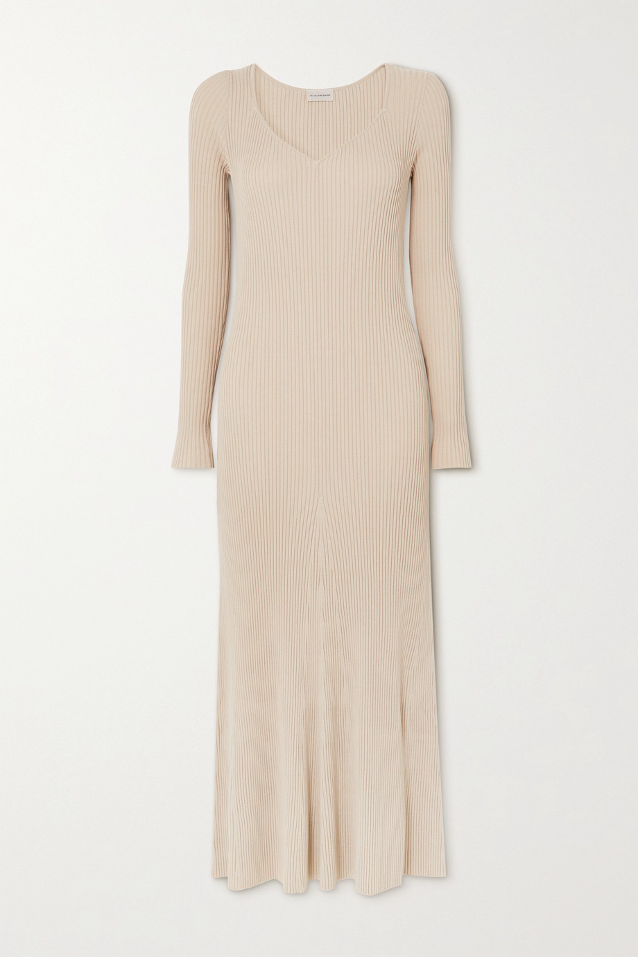 BY MALENE BIRGER Frerea ribbed-knit maxi dress