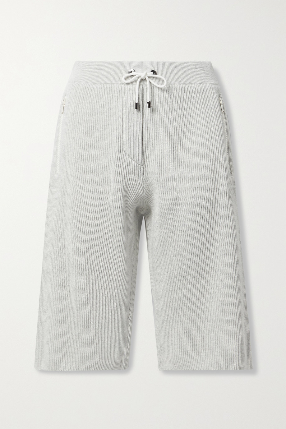 BRUNELLO CUCINELLI Ribbed cotton shorts