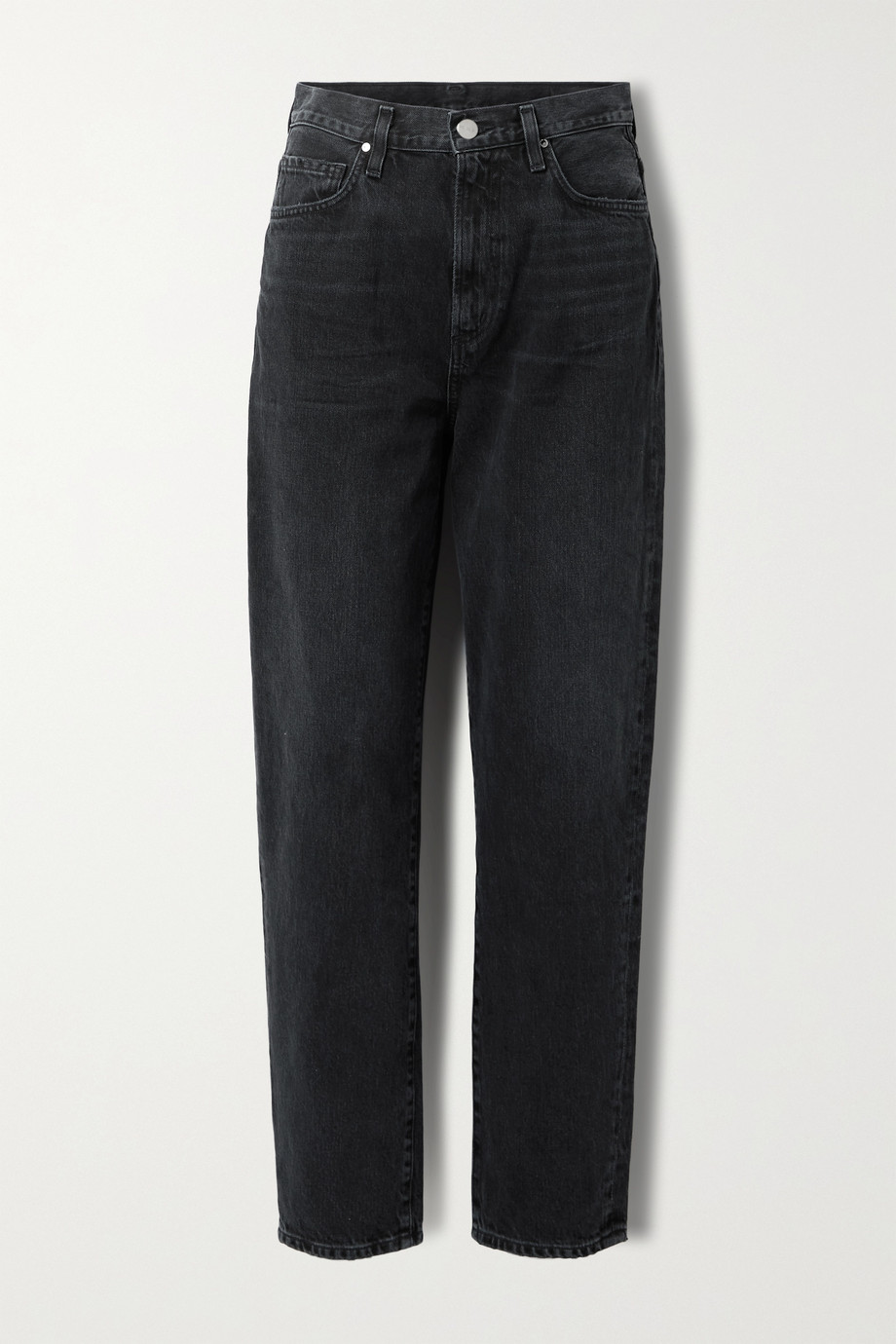 GOLDSIGN + NET SUSTAIN The Peg high-rise straight-leg jeans