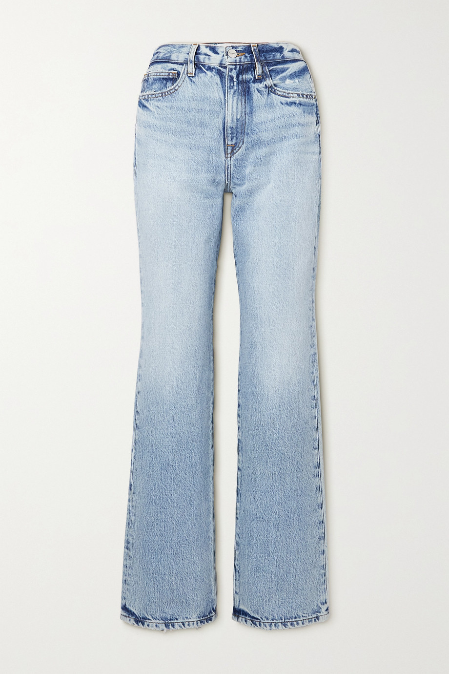FRAME Le Jane high-rise straight-leg jeans