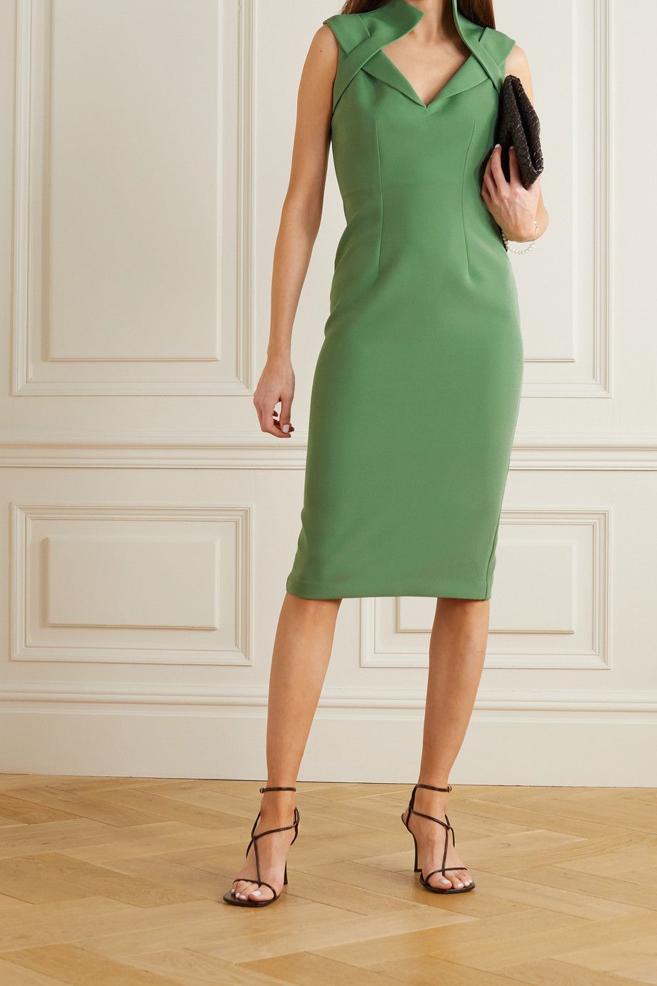 SAFIYAA Loide crepe dress
