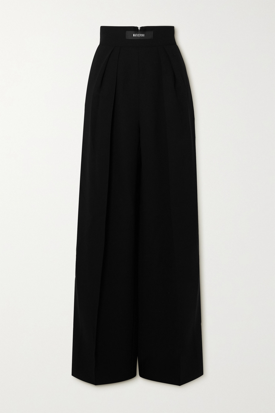 MATICEVSKI Reason crepe wide-leg pants