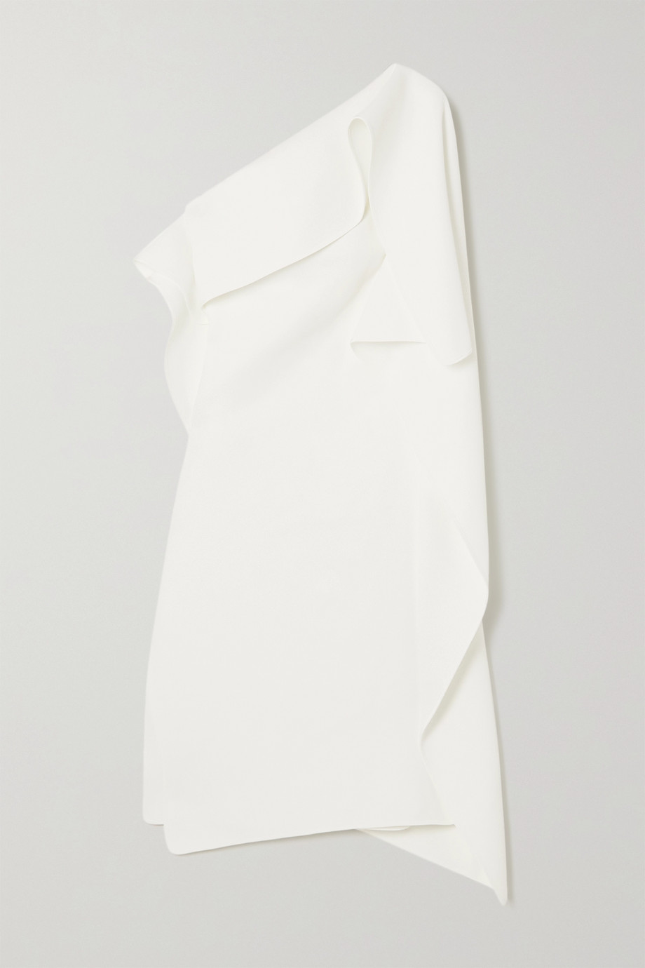 MATICEVSKI Ecstasy one-shoulder draped cady dress