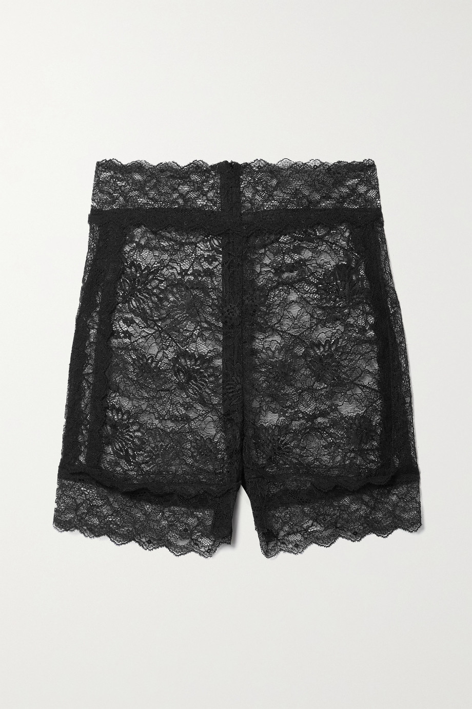 DUNDAS Stretch-lace shorts