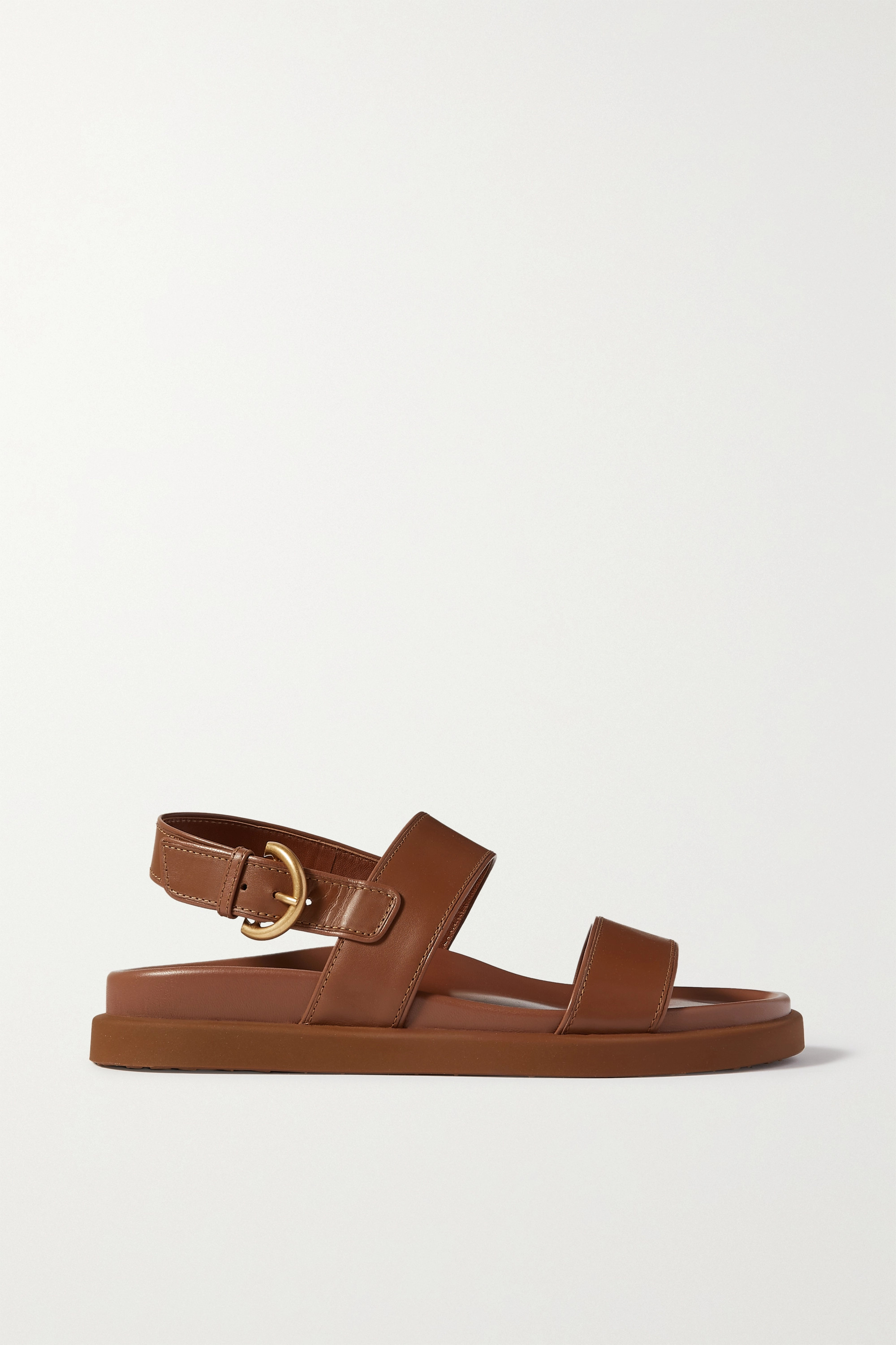 GIANVITO ROSSI Bilbao leather sandals