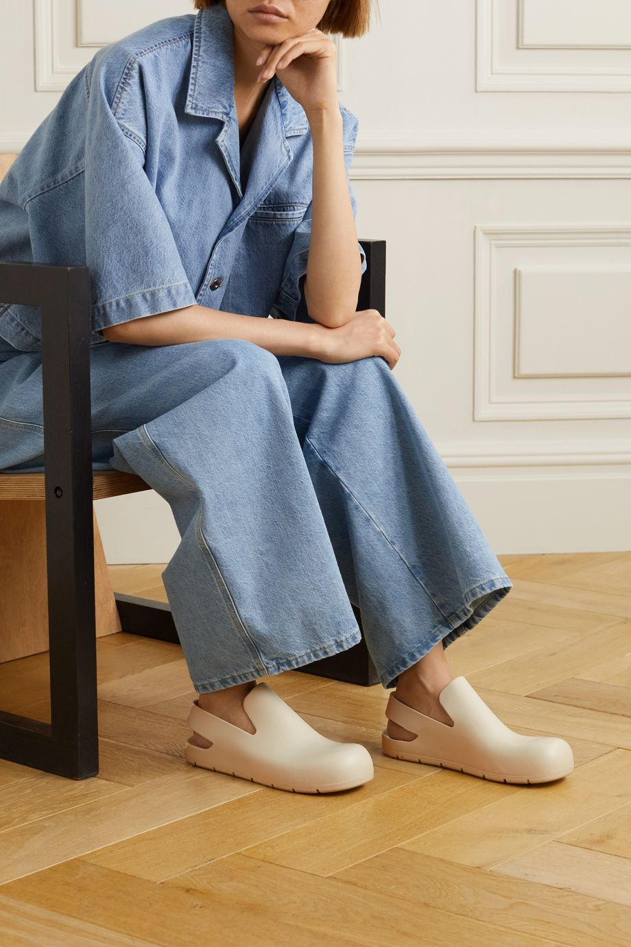 BOTTEGA VENETA Puddle rubber clogs