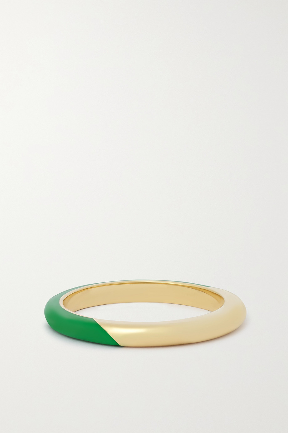 ALICE CICOLINI Candy 14-karat gold enamel ring