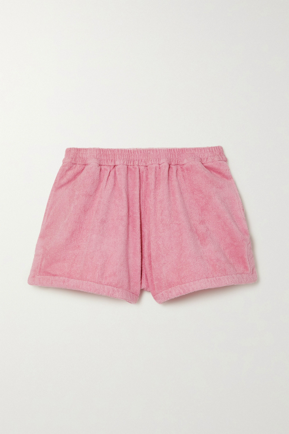 TERRY Estate cotton-terry shorts