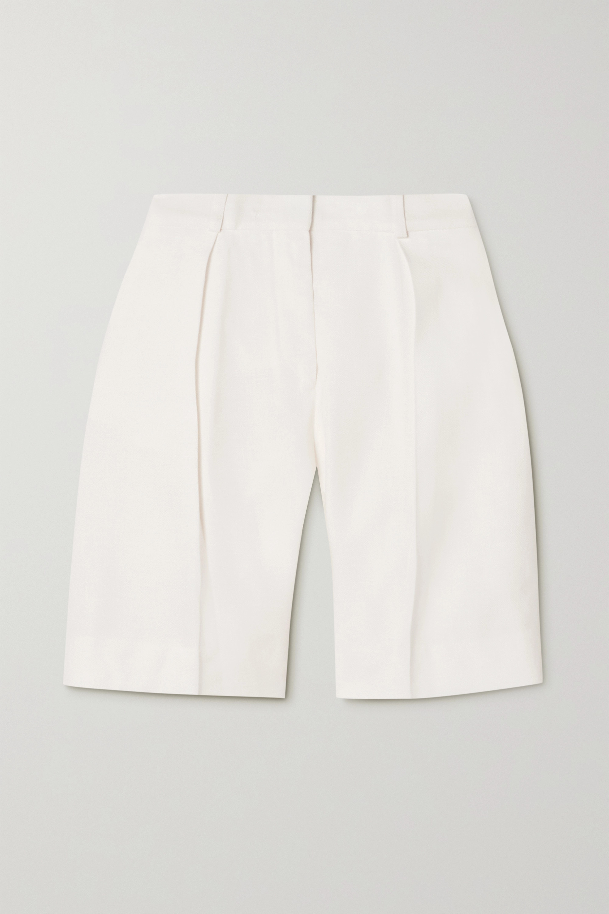 VICTORIA, VICTORIA BECKHAM Pleated woven shorts