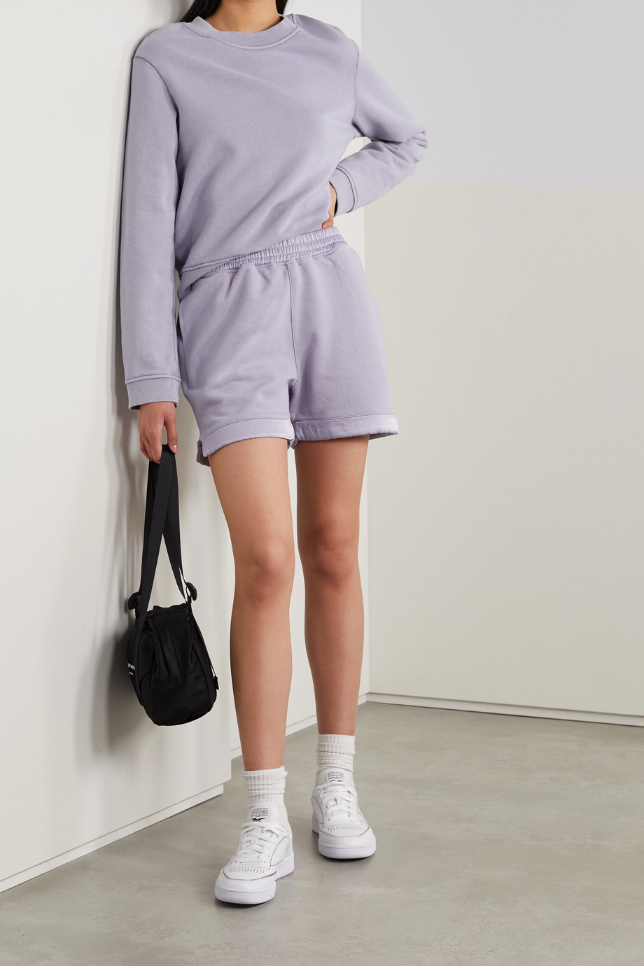 RTA Emilia cotton-jersey sweatshirt