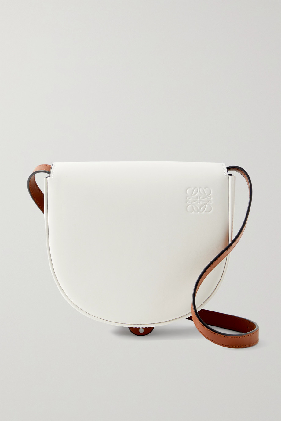 LOEWE Heel Duo two-tone leather shoulder bag