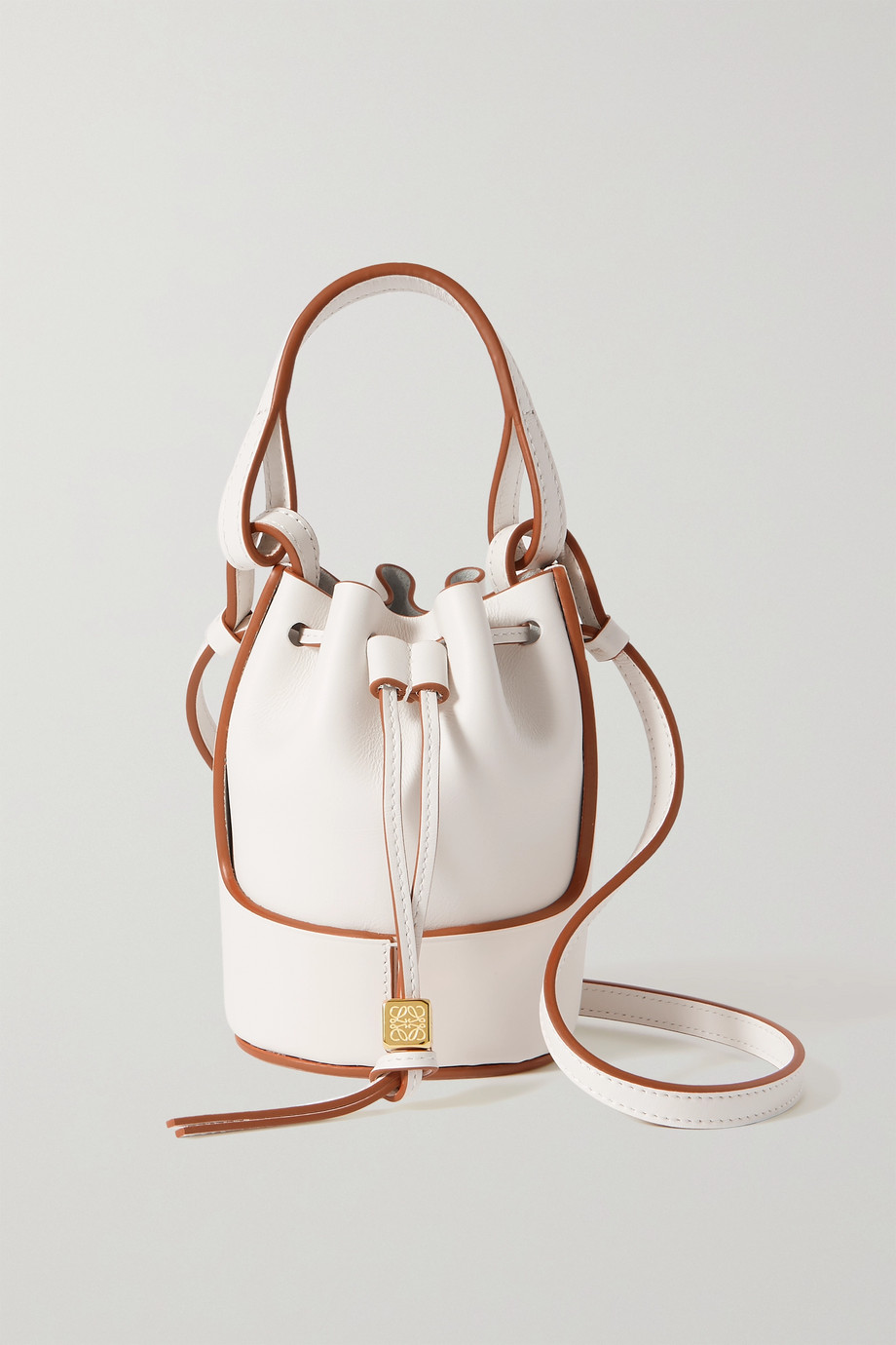 LOEWE Balloon nano leather bucket bag