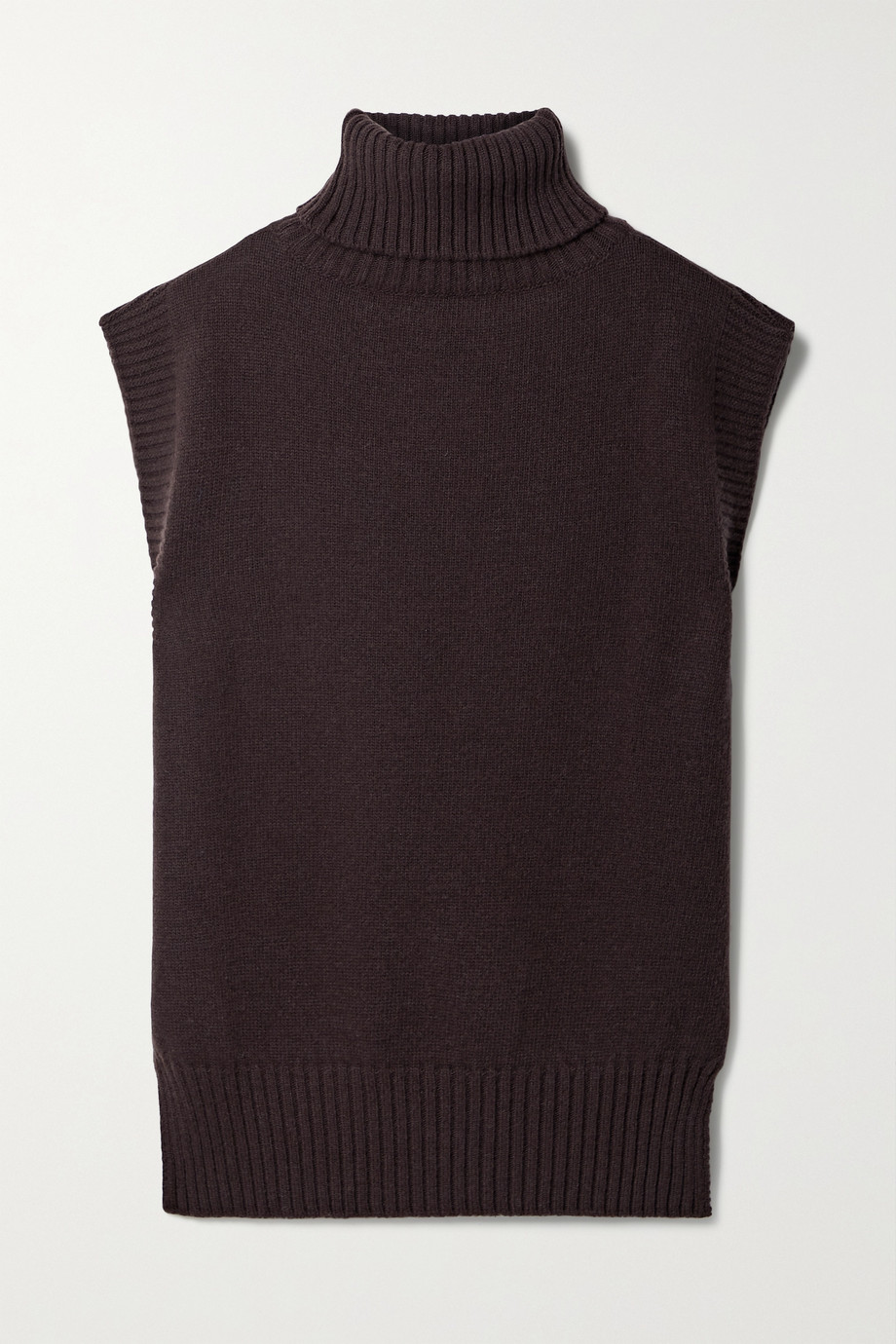 FRANKIE SHOP Wool-blend turtleneck sweater