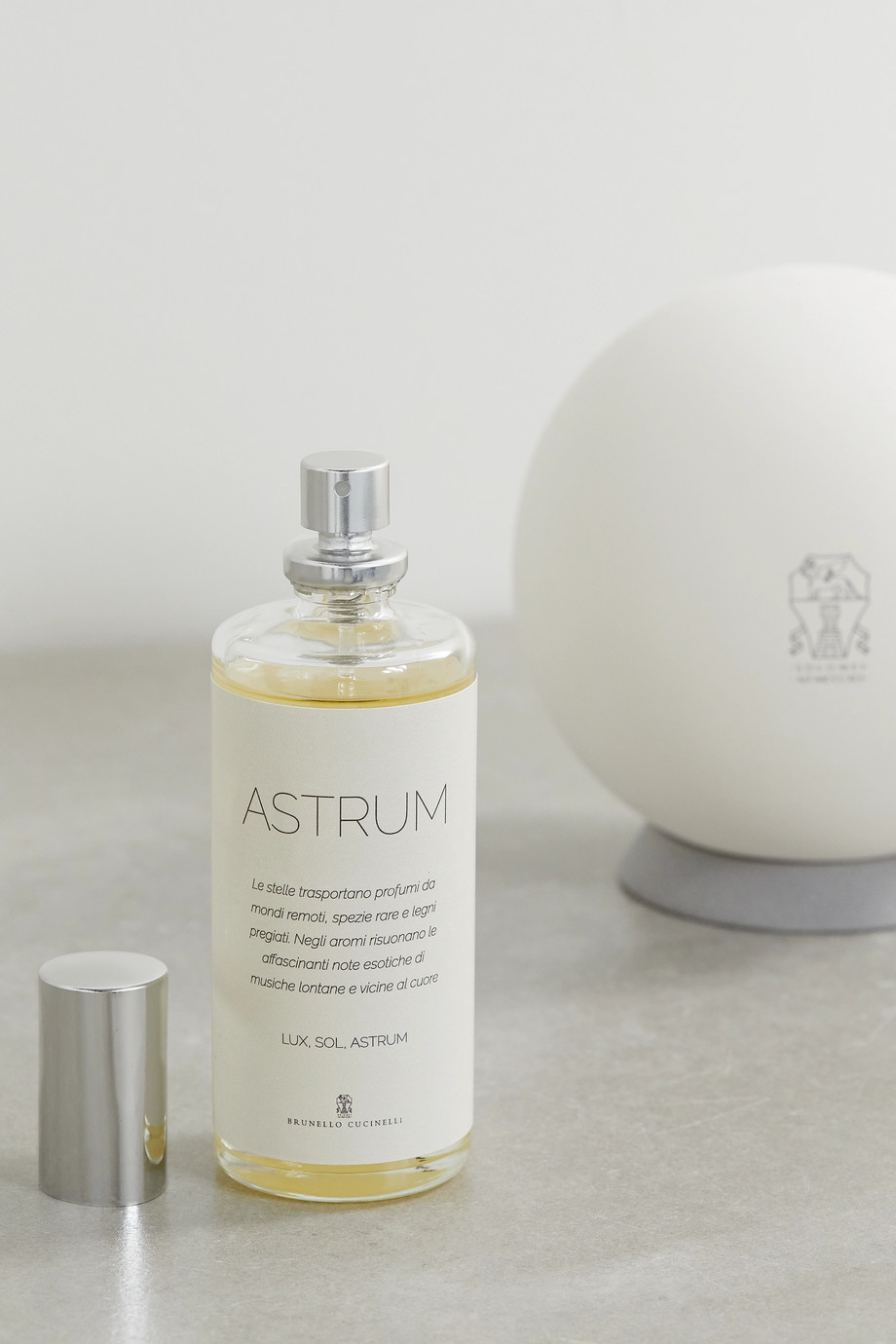BRUNELLO CUCINELLI Astrum Sphere diffuser and refill set
