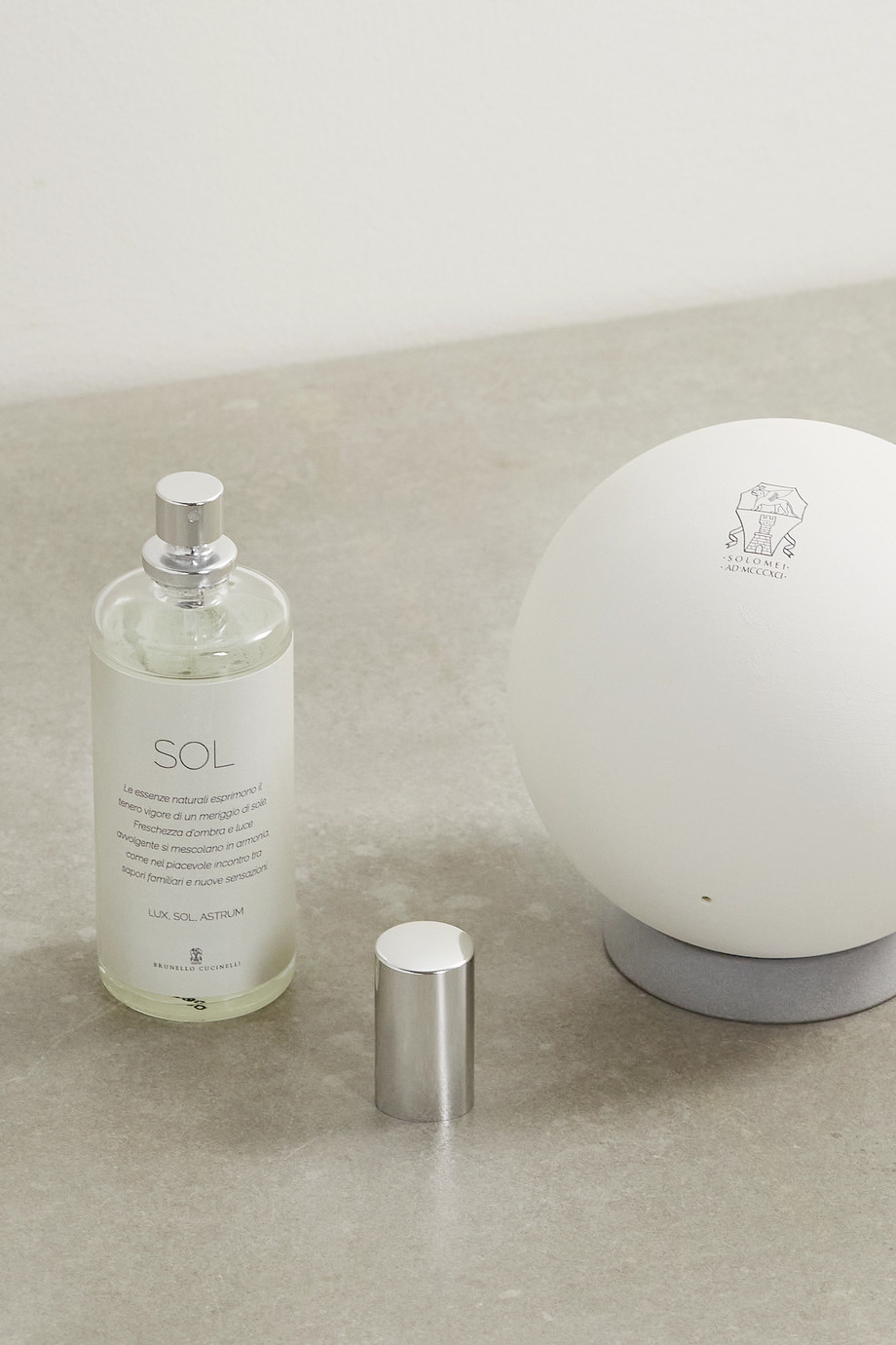 BRUNELLO CUCINELLI Sol Sphere diffuser and refill set