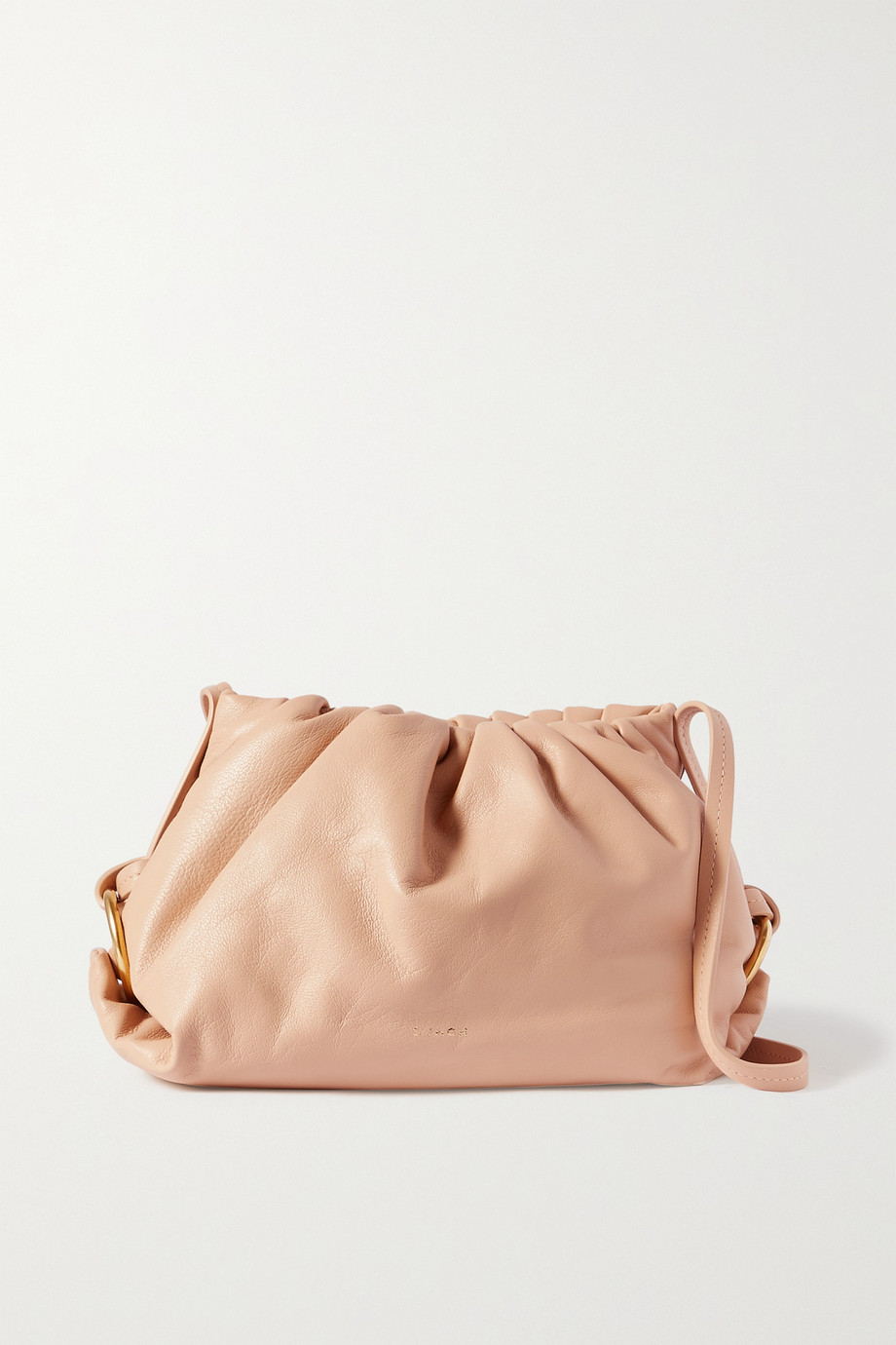 S.JOON Baby Bao gathered leather shoulder bag