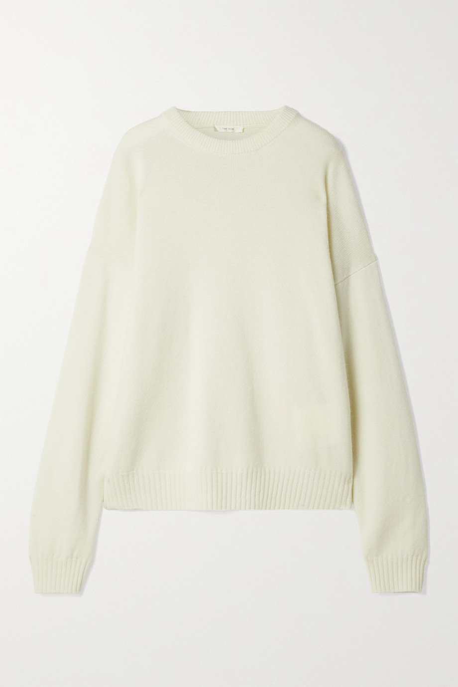 THE ROW Cirane merino wool and cashmere-blend sweater