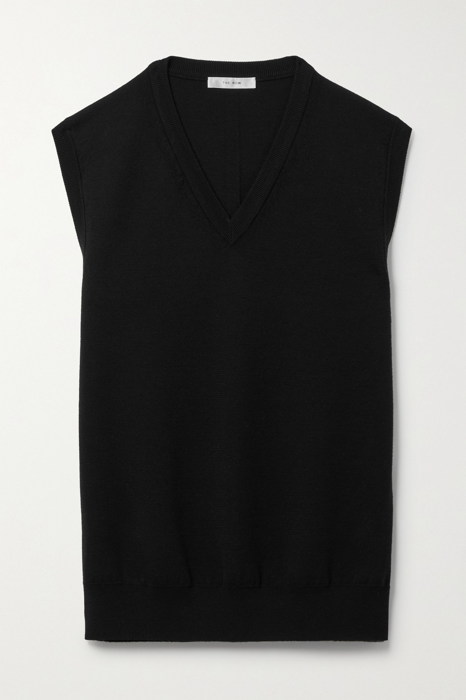 THE ROW Cremona merino wool vest