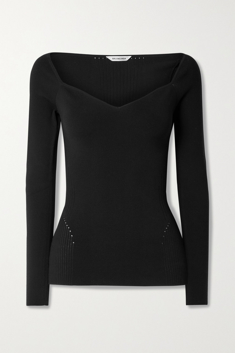 BALENCIAGA Stretch modal-blend jersey top