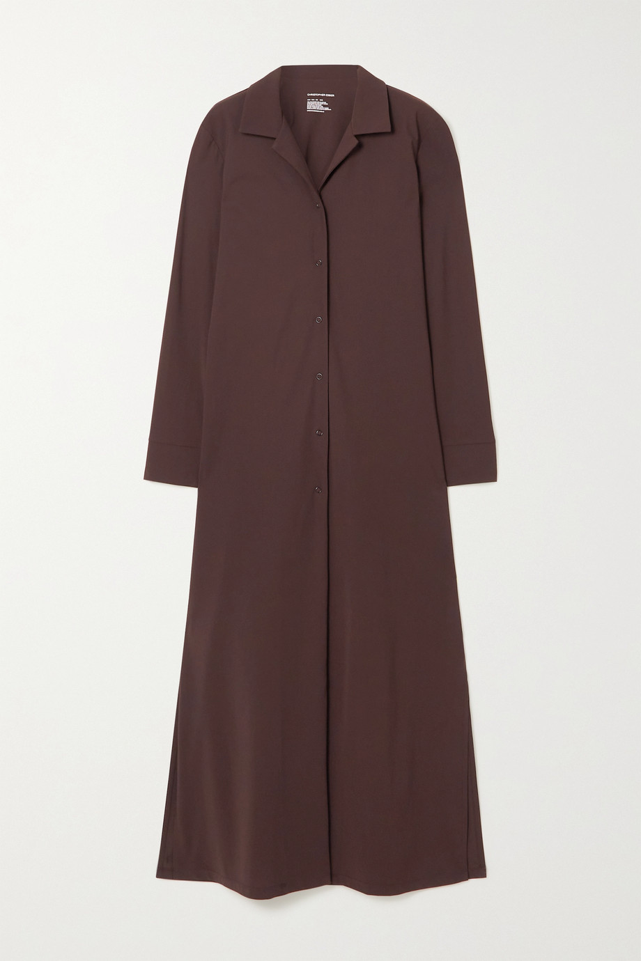CHRISTOPHER ESBER Stretch-jersey robe