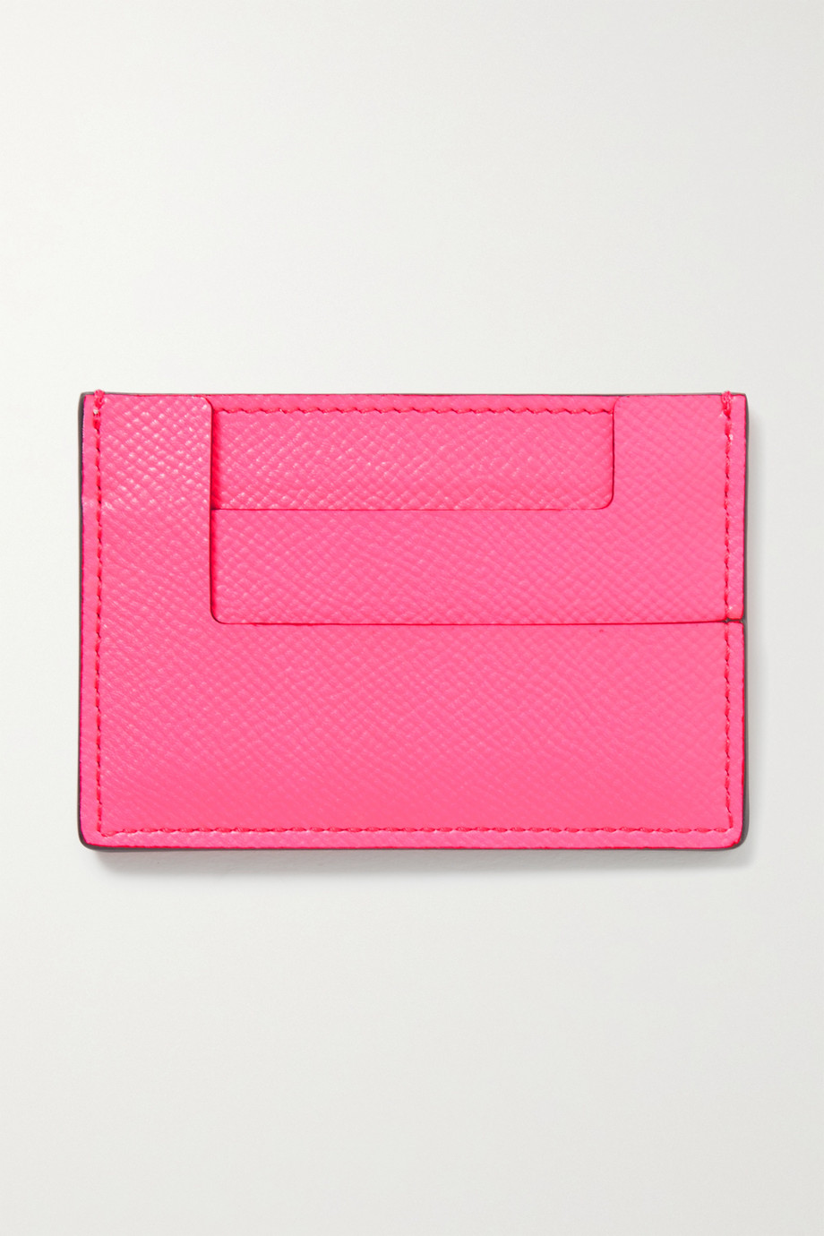 TOM FORD Textured-leather cardholder
