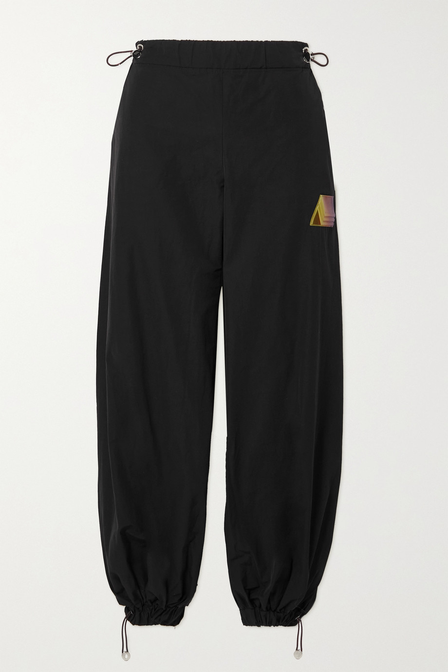 THE ATTICO Elon shell track pants