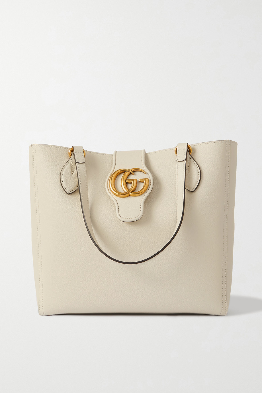 GUCCI + NET SUSTAIN Dahlia textured-leather tote