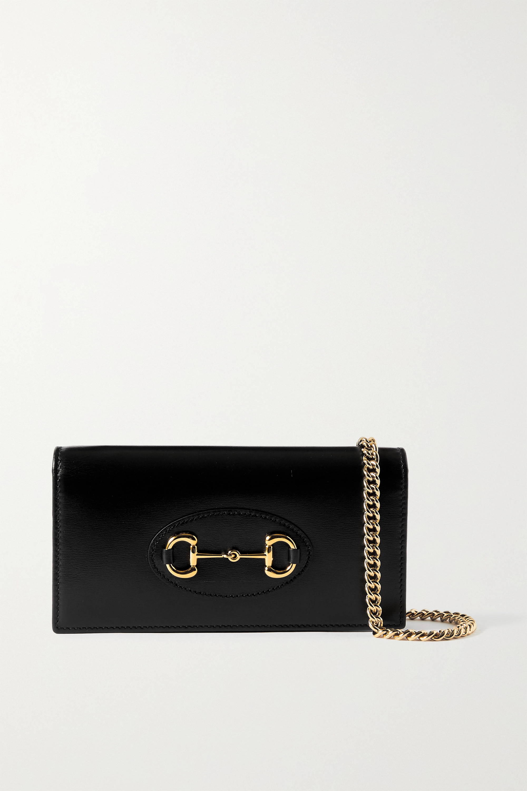 GUCCI 1955 Horsebit leather shoulder bag
