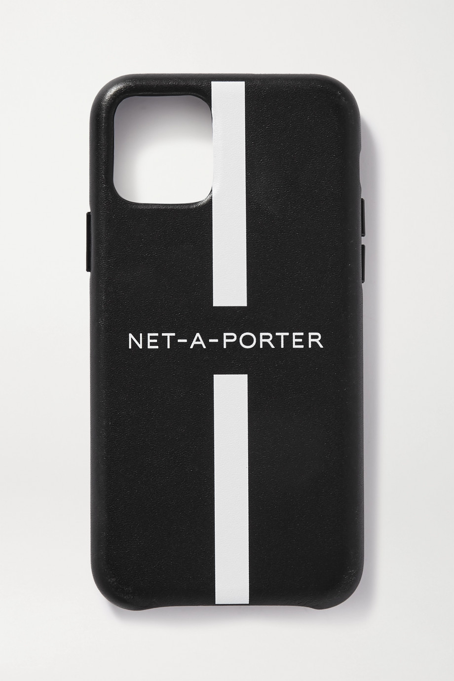 NET-A-PORTER Printed leather iPhone 11 case
