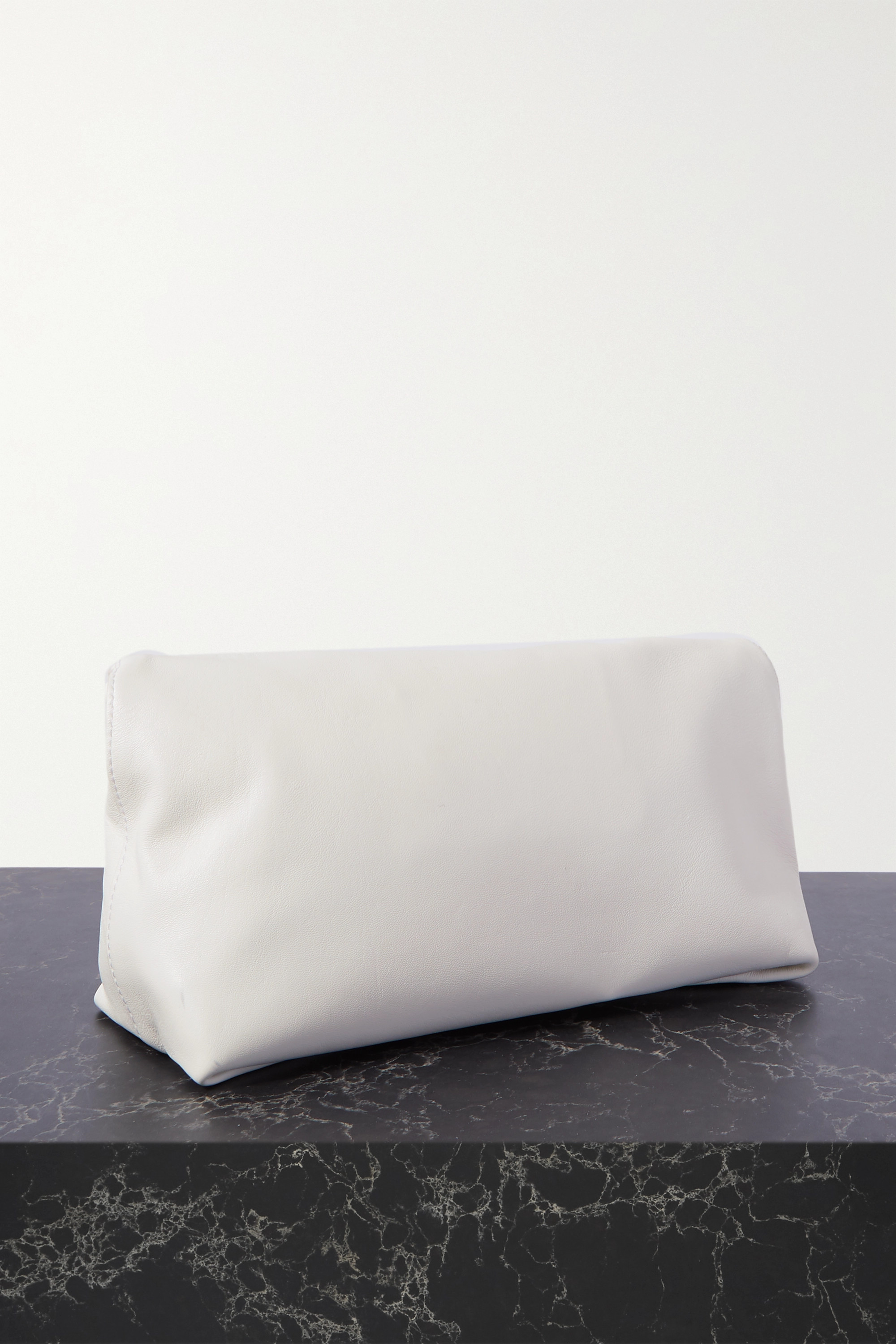 ALEXANDER MCQUEEN Sculptural leather pouch