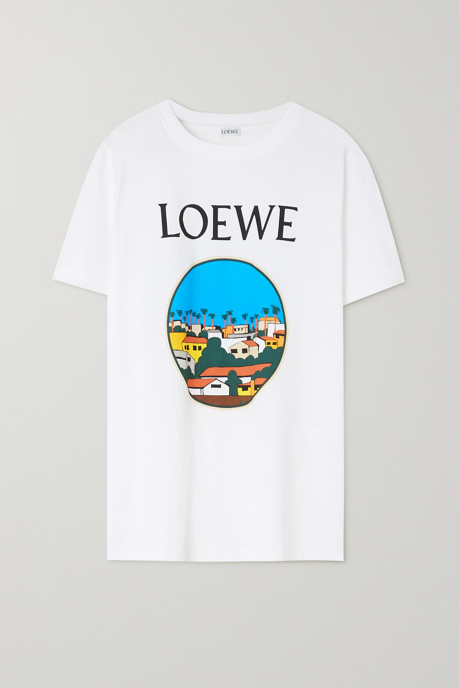 LOEWE + Ken Price LA Series printed cotton-jersey T-shirt