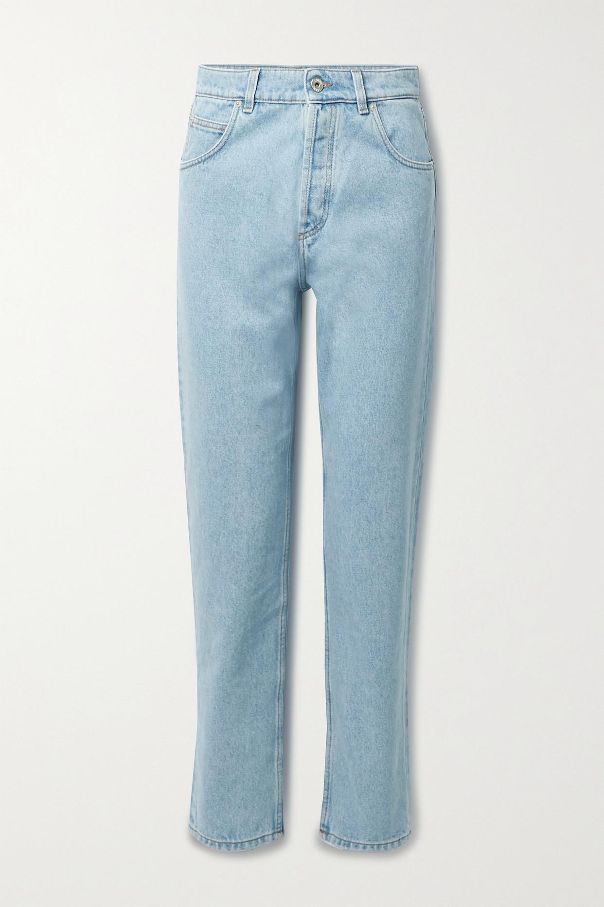 LOEWE - 高腰锥形牛仔裤 - 蓝色 - FR34