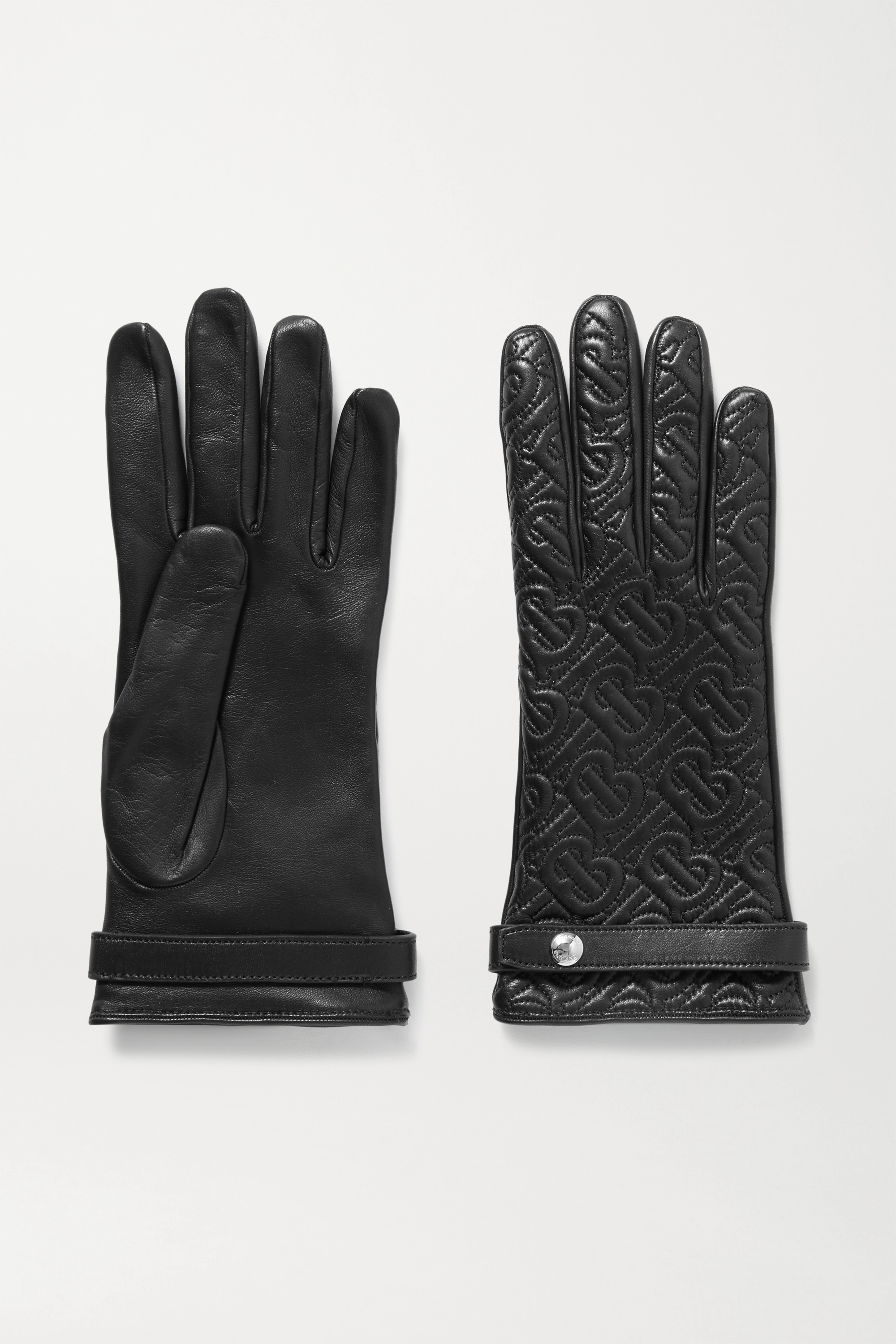 BURBERRY Quilted leather gloves