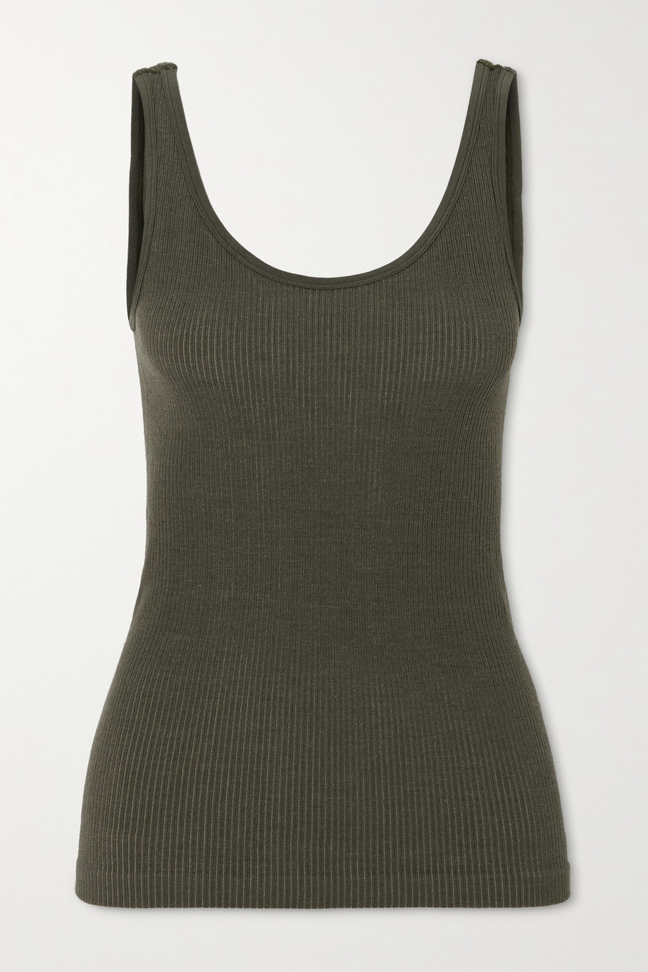 NAGNATA + Space for Giants Avika ribbed technical stretch-knit tank