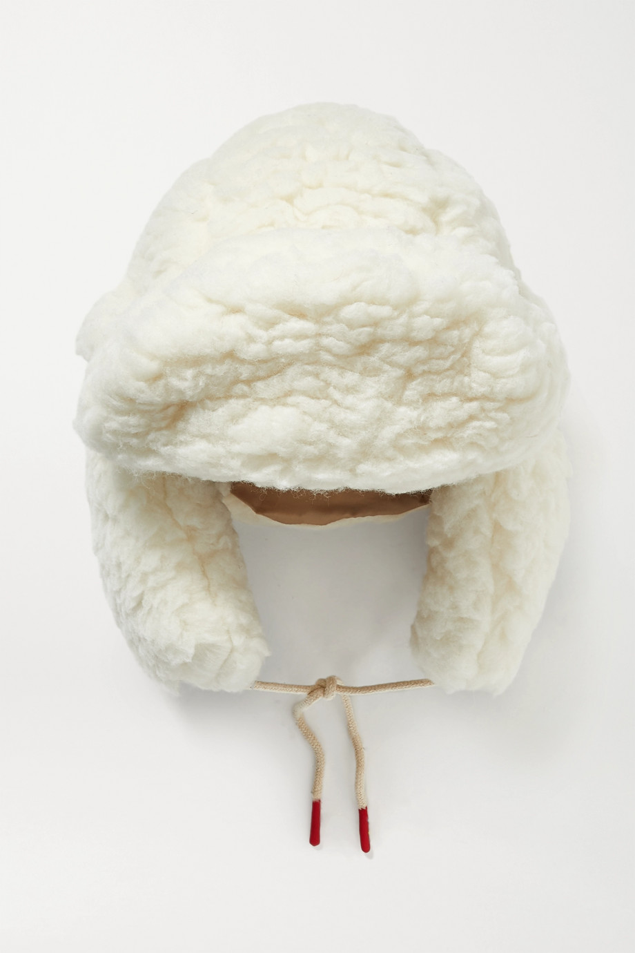 CORDOVA Eyak wool-blend faux shearling hat