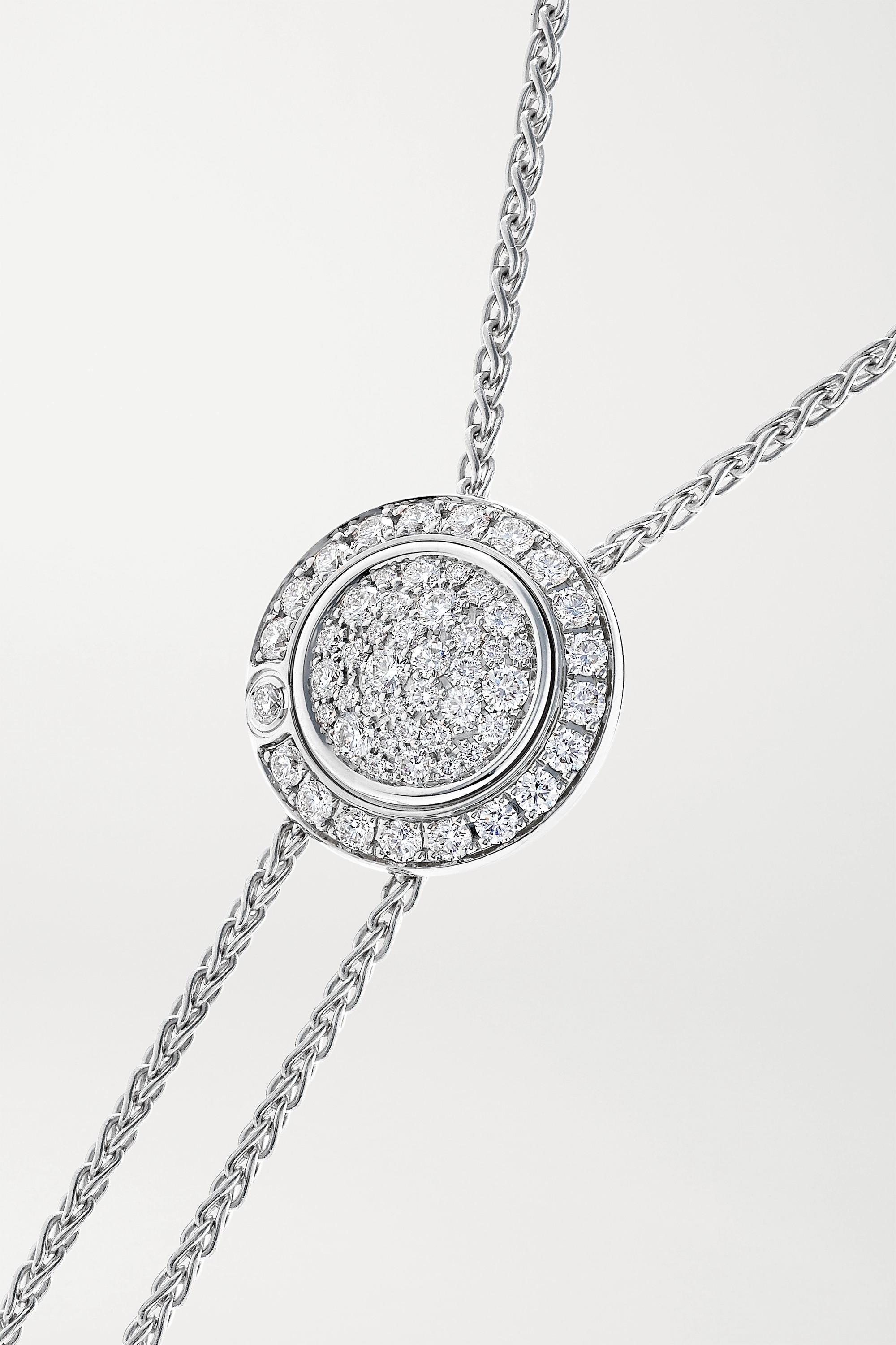 PIAGET Possession 18-karat white gold diamond necklace