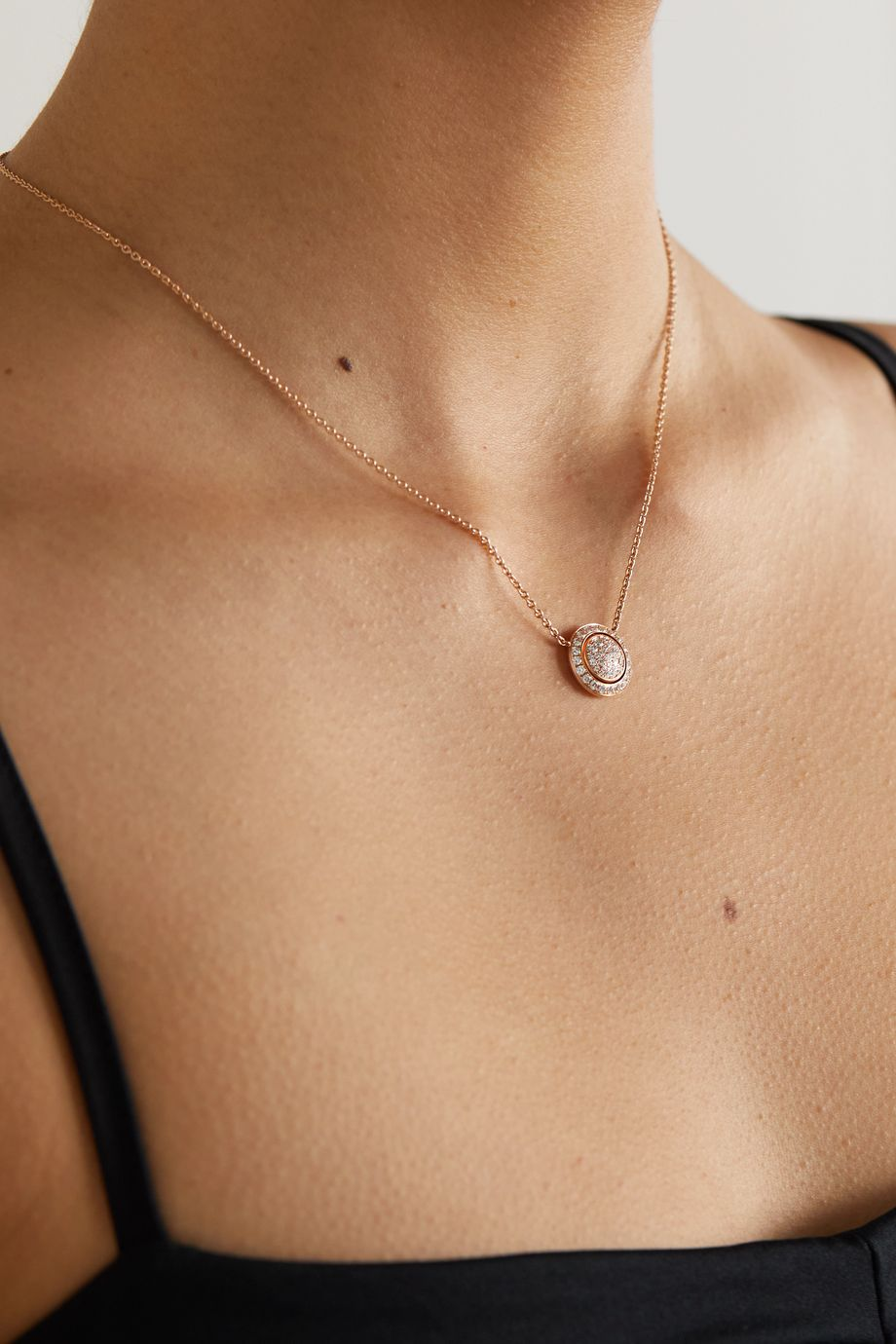 PIAGET Possession 18-karat rose gold diamond necklace