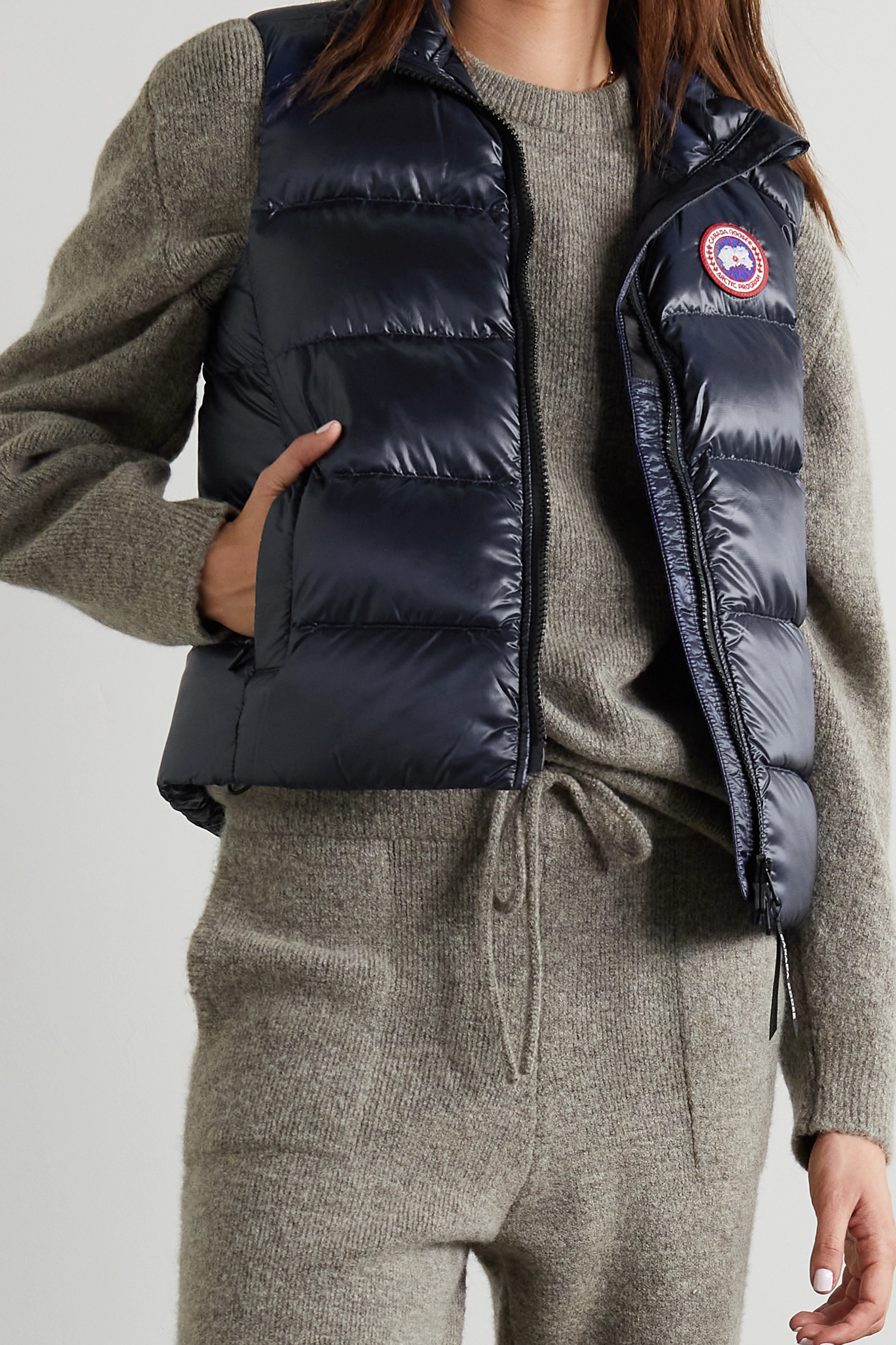 CANADA GOOSE Cypress quilted recycled ripstop down vest