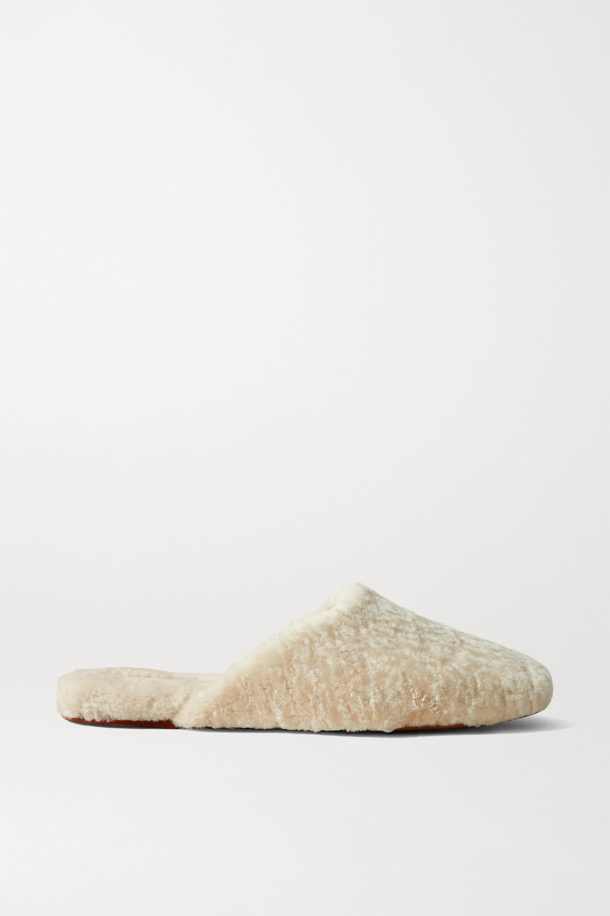 VINCE Caela shearling slippers