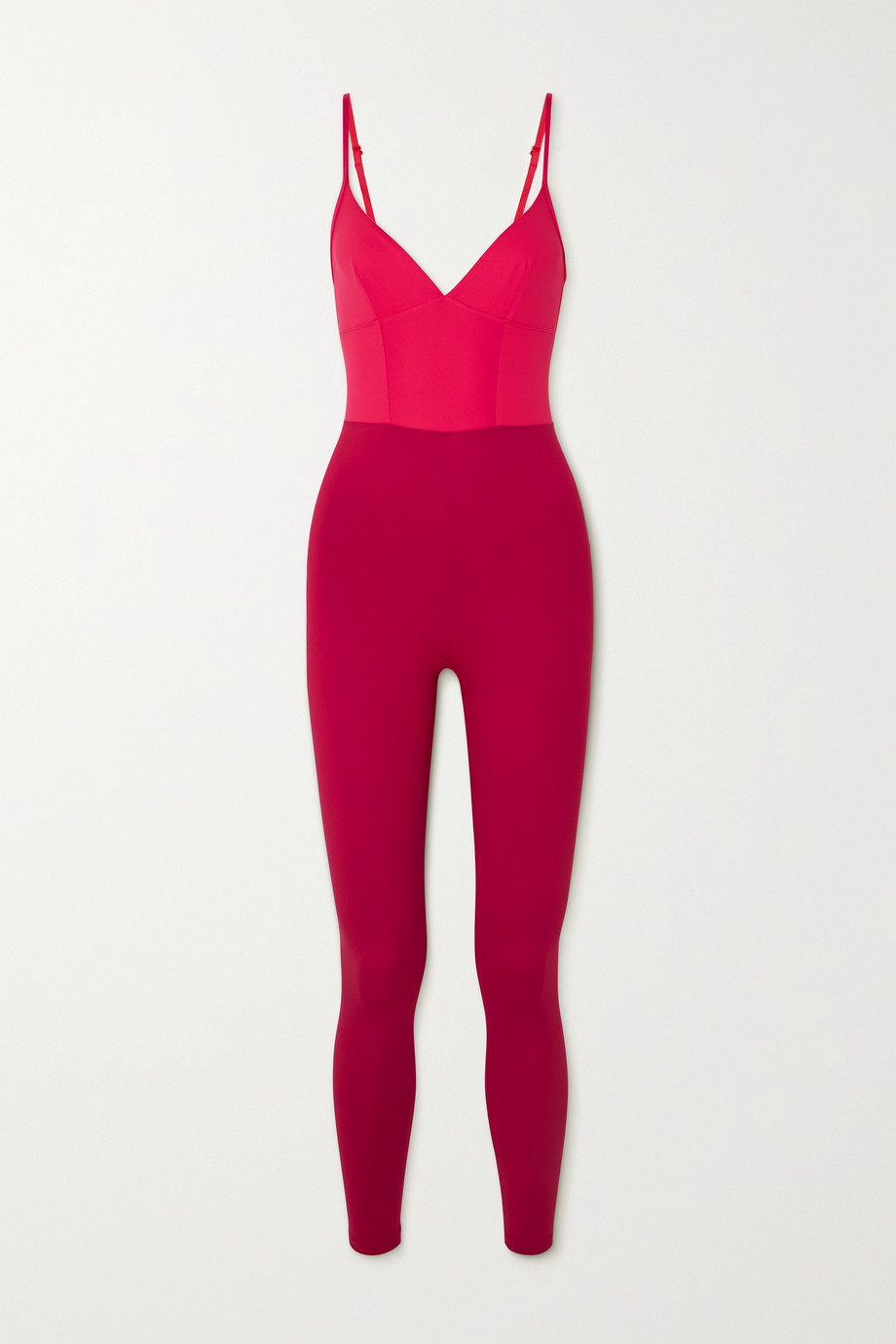 ERNEST LEOTY Ilona two-tone stretch bodysuit