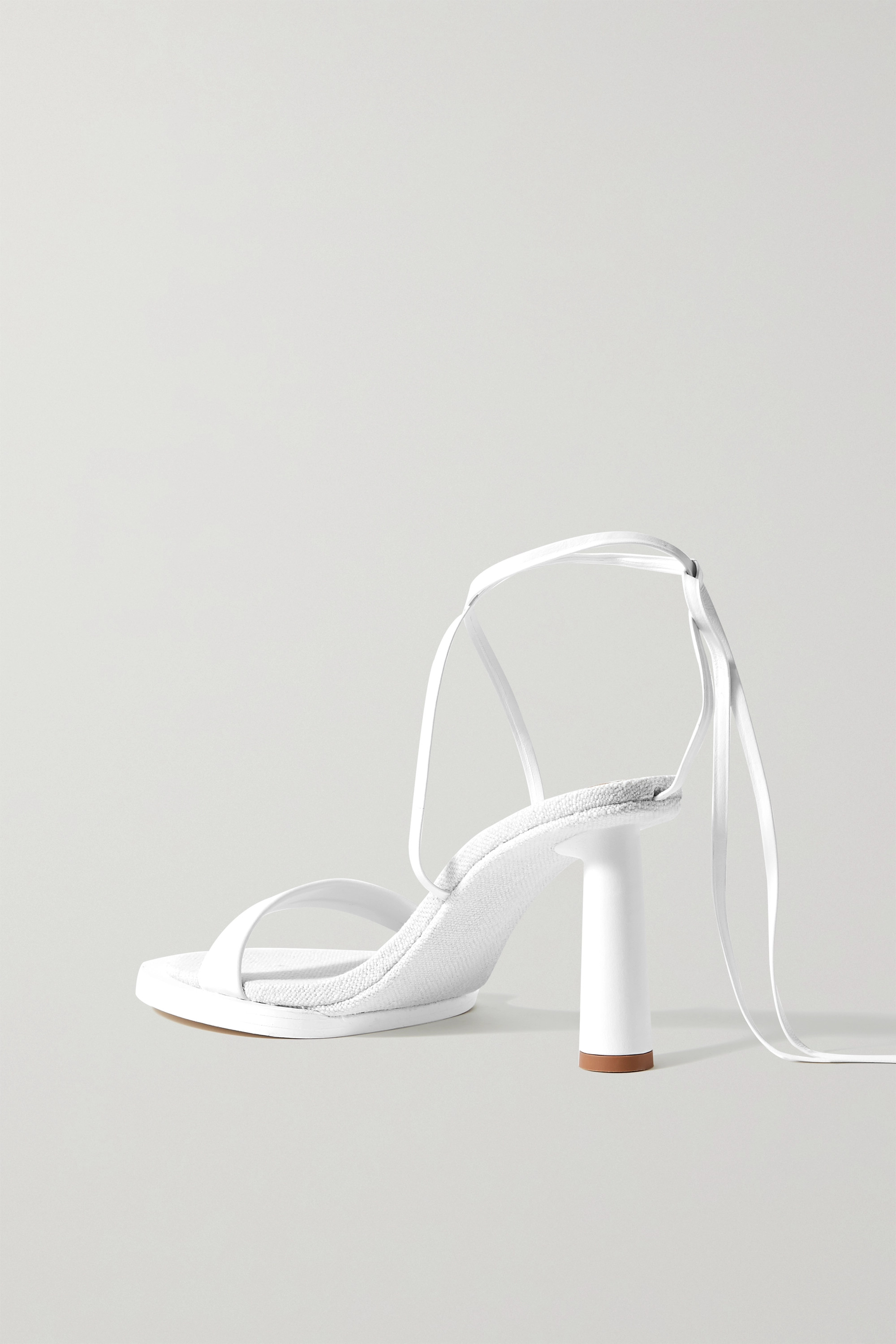 JACQUEMUS Leather sandals