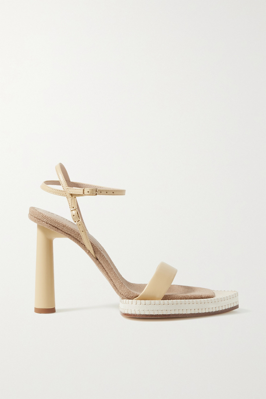 JACQUEMUS Novio leather sandals
