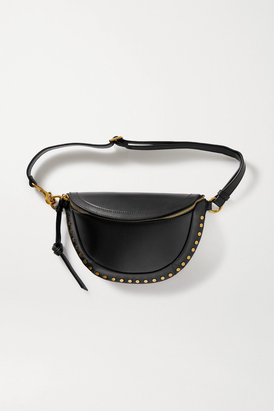 ISABEL MARANT Skano studded leather belt bag