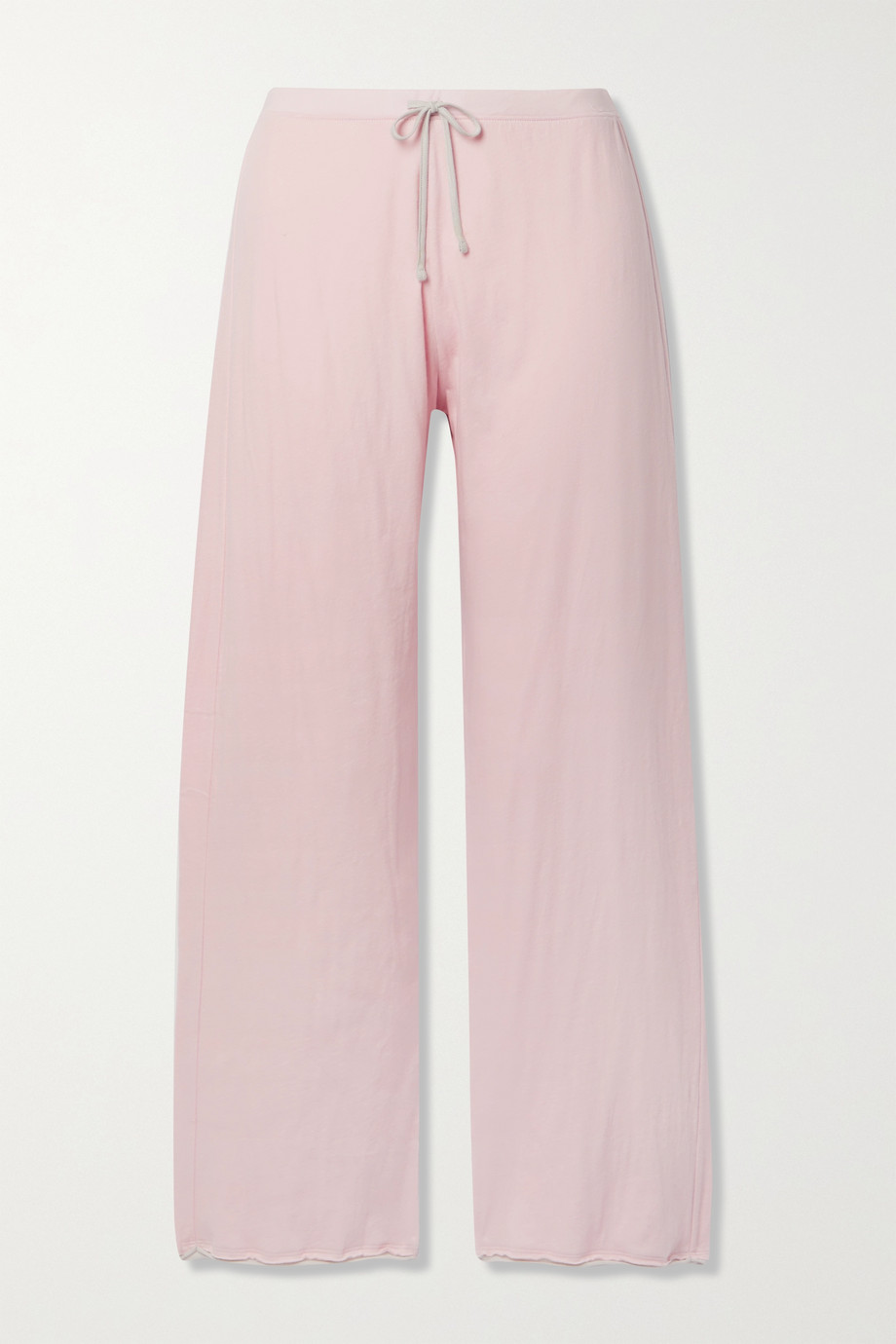 SKIN + NET SUSTAIN Guinevere organic Pima cotton-jersey track pants