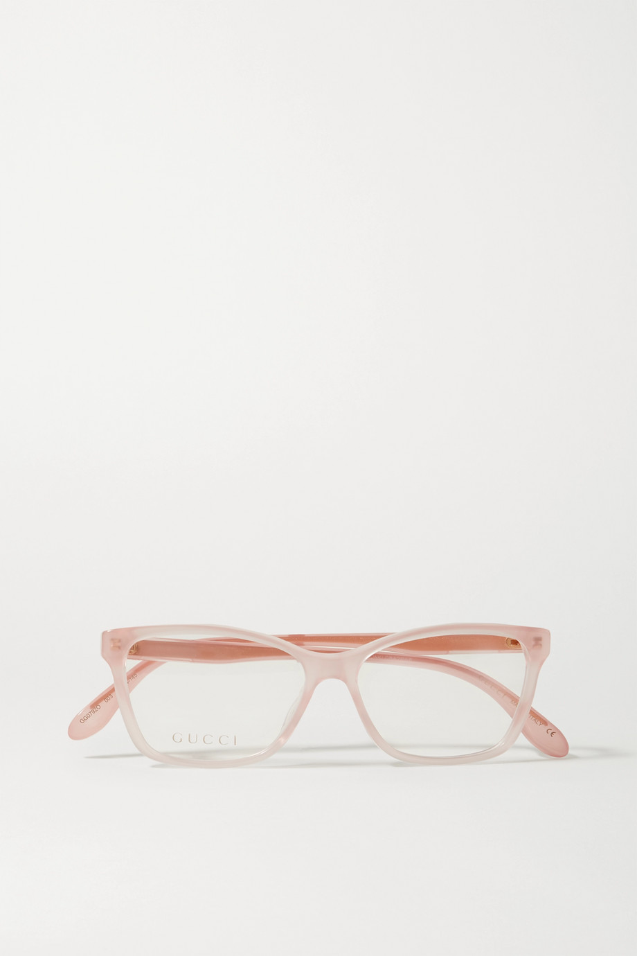 GUCCI D-frame acetate optical glasses